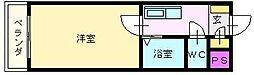 大阪府堺市堺区向陵東町2丁の賃貸マンションの間取り