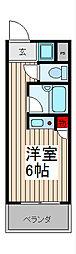 ステージコート浦和常盤[1階]の間取り
