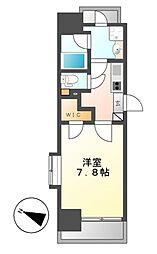 メイプルコート本山[5階]の間取り