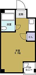 ファンタス101[4階]の間取り