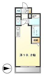 NS ZEAL大曽根[3階]の間取り