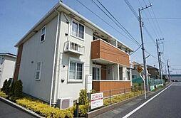 千葉県野田市つつみ野1丁目の賃貸アパートの外観