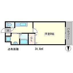 クルミナーレ[2階]の間取り