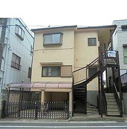 東京都板橋区赤塚4丁目の賃貸アパートの外観