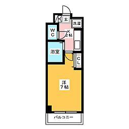 ルミナス博多[4階]の間取り