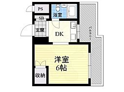 甲東園駅 3.2万円