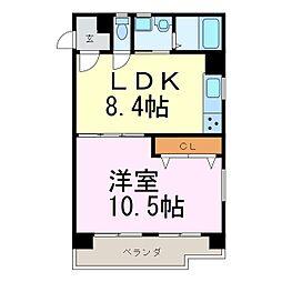 メゾン鶴舞[2階]の間取り