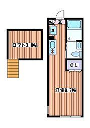 Casa Viva[1階]の間取り