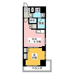 TRIBUTE尾張町[5階]の間取り