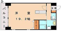エスズイン日蒔野[2階]の間取り