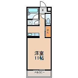 シルフィード (シルフィード)[2階]の間取り