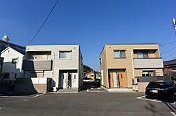 京都府八幡市八幡隅田口の賃貸アパートの外観
