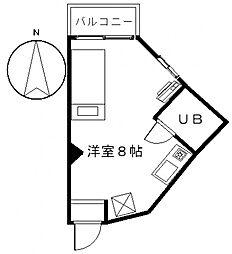 まちだどぅ12番館[3階]の間取り