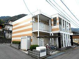 広島県三原市宗郷1丁目の賃貸アパートの外観