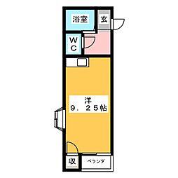 セイラBOX西横手II[1階]の間取り