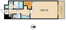 兵庫県尼崎市水堂町4丁目の賃貸マンションの間取り