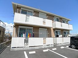 埼玉県三郷市栄2丁目の賃貸アパートの外観