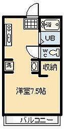 鈴木グリーンハイツB棟[106号室]の間取り