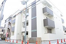 兵庫県尼崎市西桜木町の賃貸アパートの外観