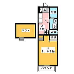 トップハウス寺家2[1階]の間取り