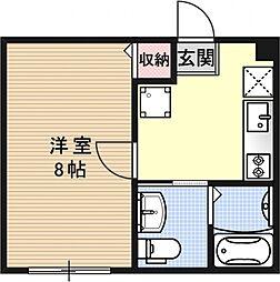 ブライトハイムA棟[305号室号室]の間取り