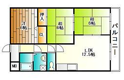 ルーラルライフ和[6階]の間取り