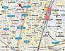 地図,1K,面積18m2,賃料6.0万円,東京メトロ千代田線 北千住駅 徒歩6分,京成本線 千住大橋駅 徒歩15分,東京都足立区千住中居町