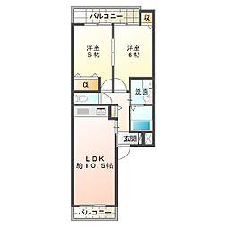 向陽3丁目新築[2階]の間取り