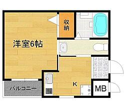TST稲野駅前[3階]の間取り