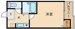 DHマンション[3階]の間取り
