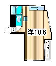 コモナール[3階]の間取り