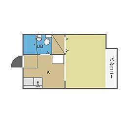 アップルハウス[1階]の間取り