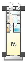 プライム松原[1階]の間取り