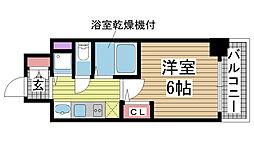 プレサンス神戸西スパークリング[3階]の間取り