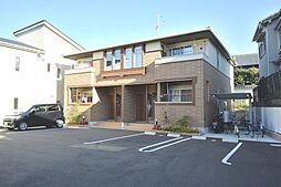 大阪府枚方市津田西町1丁目の賃貸アパートの外観