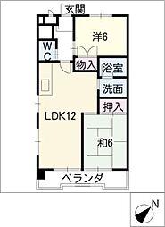 STビル[7階]の間取り