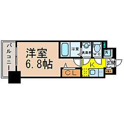 プレサンス栄ブリオ[8階]の間取り