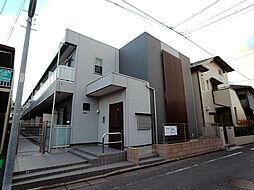神奈川県相模原市中央区氷川町の賃貸アパートの外観