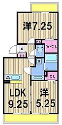 RSA[1階]の間取り