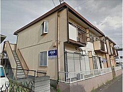 埼玉県熊谷市万平町2丁目の賃貸アパートの外観