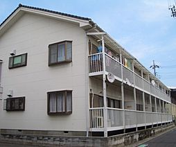 埼玉県春日部市大場の賃貸アパートの外観