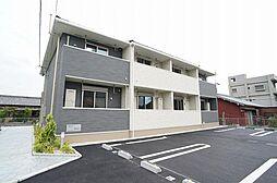 三重県桑名市松ノ木7の賃貸アパートの外観