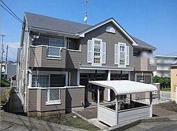 神奈川県平塚市万田の賃貸アパートの外観