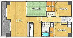 アビタシオン橋本II[203号室]の間取り