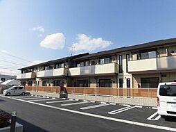 福岡県田川市大字奈良の賃貸アパートの外観