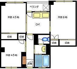 都島岡本マンション[4階]の外観