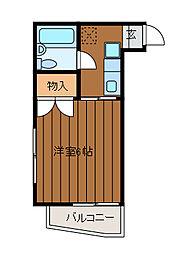 エンゼルハイデンス新百合ケ丘[1階]の間取り