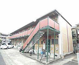 京都府京都市右京区常盤柏ノ木町の賃貸アパートの外観