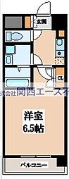 CASSIA高井田NorthCourt[6階]の間取り