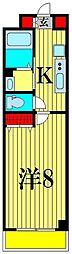 セナリオフォルム馬橋V[4階]の間取り